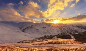 Sunset - Deosai National Park
