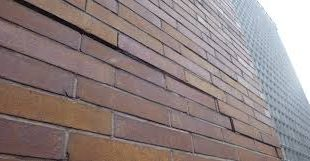 Brick cladding. Terms, types of bricks, architectural elements: